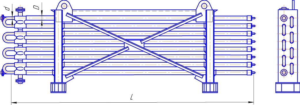 Теплообменник труба в трубе ттон Подогреватель высокого давления ПВД-К-400-20-4,5-6 Бийск